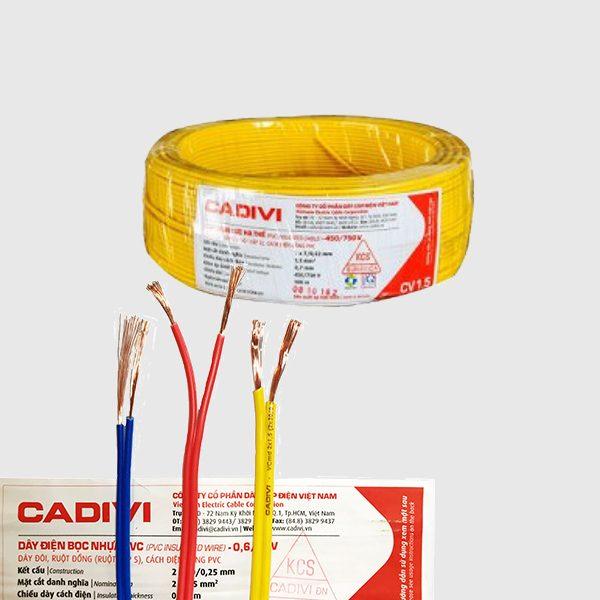 ảnh đại diện dây điện đơn Cadivi
