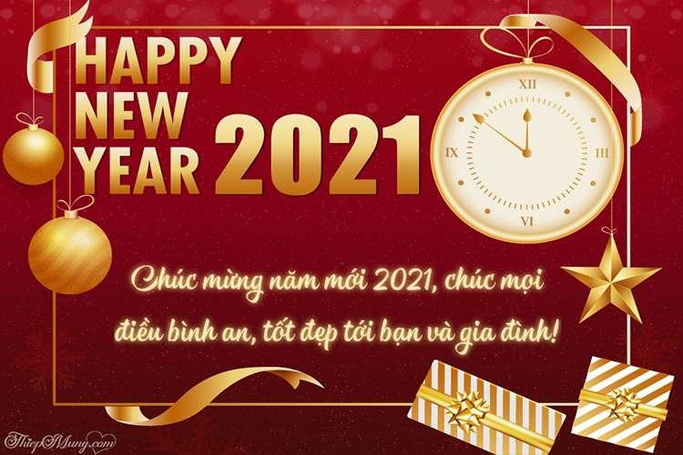Banner chúc mừng năm mới 2021