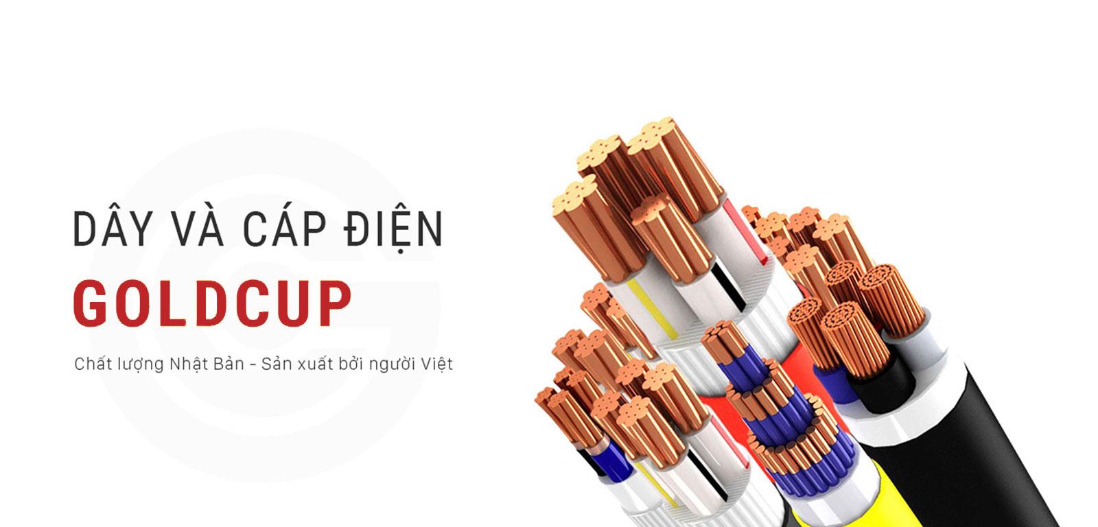 Banner dây cáp điện GoIdCup