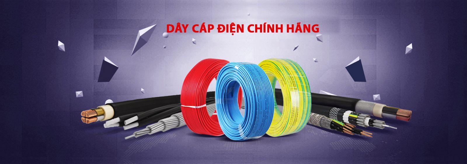 Banner quy trình sản xuất dây cáp điện