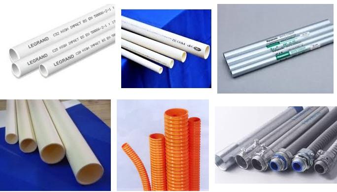 Các loại ống luồn dây điện