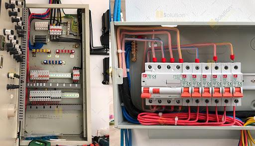 Cấu tạo tủ điện 3 pha
