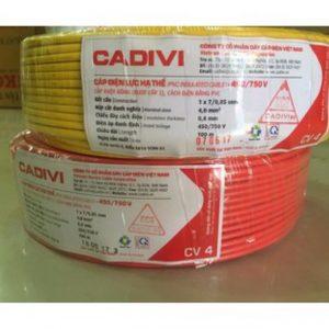 Dây cáp điện Cadivi CV 2x4