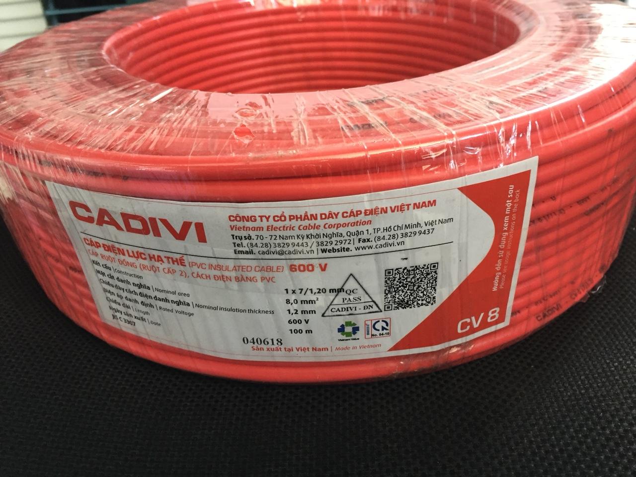 Dây điện Cadivi dẫn điện hiệu quả