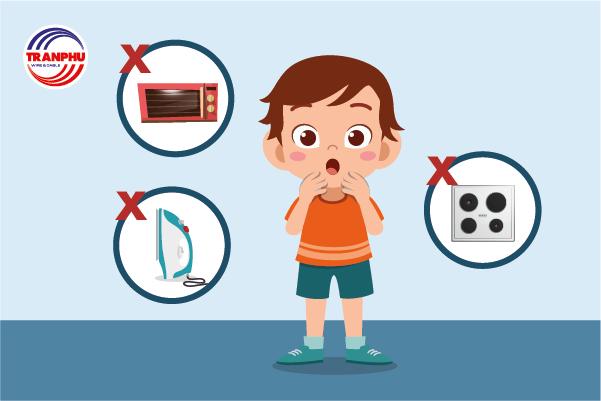 Dạy trẻ cách phòng chống điện giật