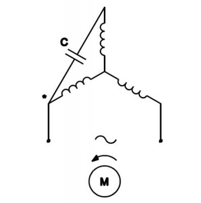 Kêts nối tụ thường với động cơ đấu hình sao