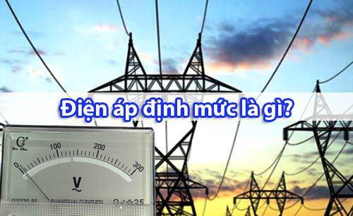 Khái niệm điện áp định mức