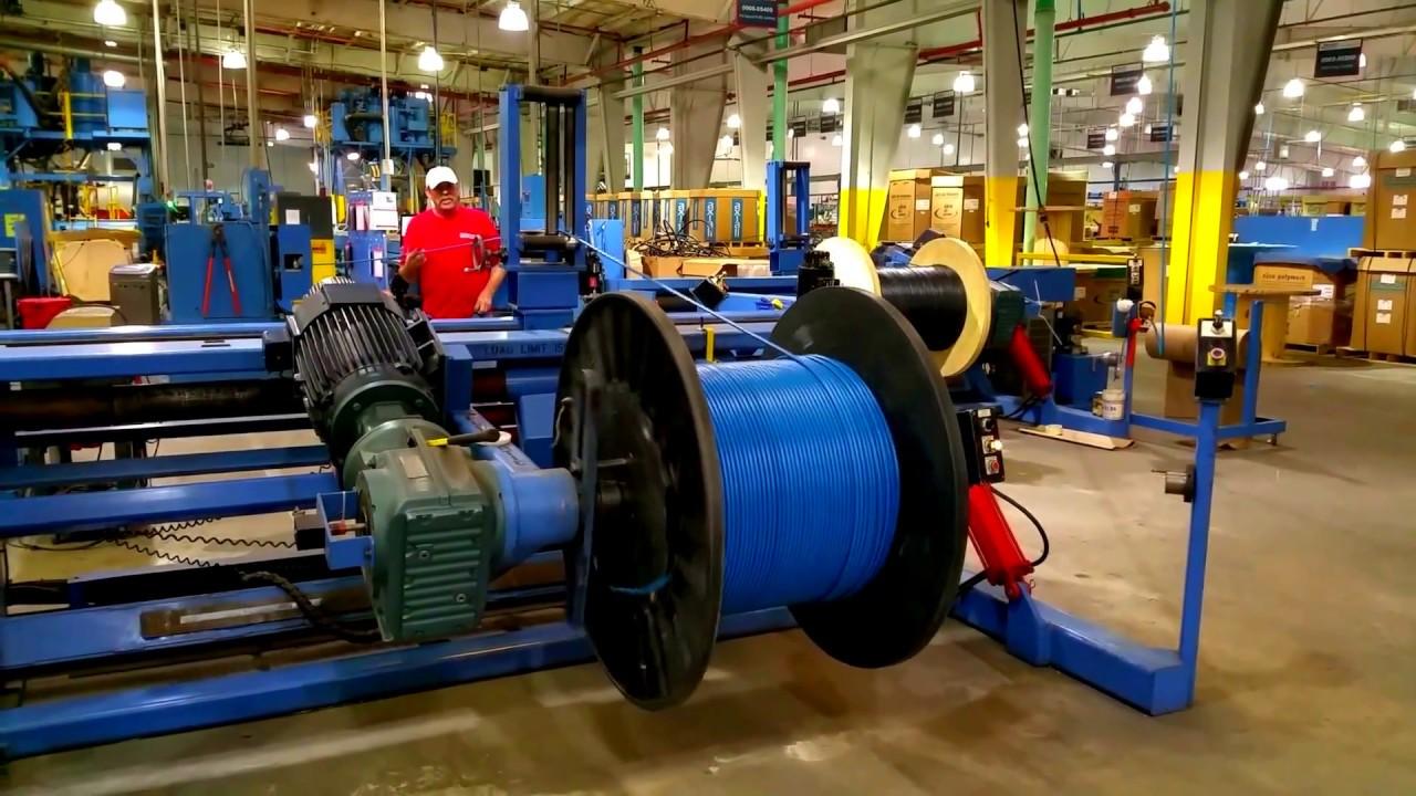 Quy trình sản xuất dây cáp điện