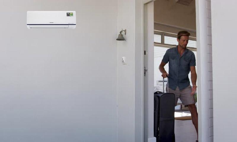 Tắt máy điều hòa trước khi rời khỏi phòng 30 phút