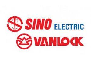 logo thiết bị điện sino vanclock