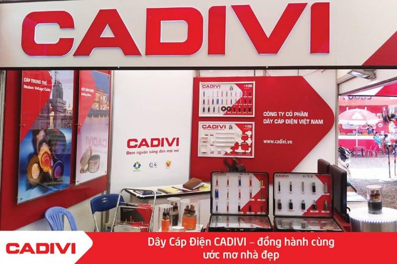 Thương hiệu dây cáp điện Cadisun