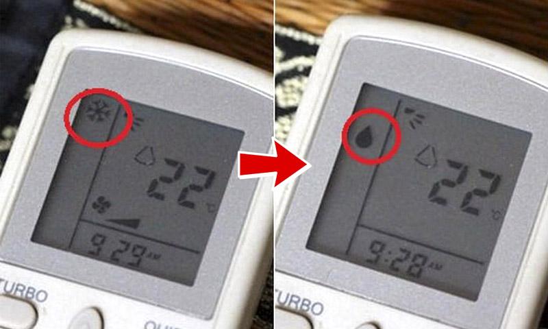 Tiết kiệm điện với chế độ Dry của máy lạnh