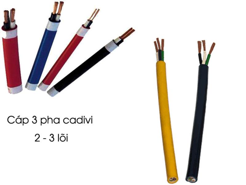 Ưu nhược điểm của dây cáp điện 3 pha